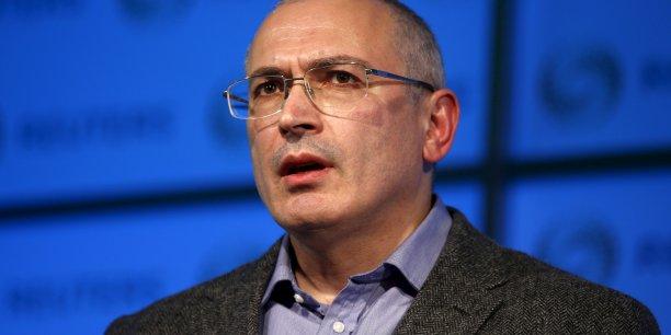 Mikhaïl Khodorkovski a jugé mercredi sur Twitter que les Occidentaux (avaient) décidé de baisser leur pression sur Moscou.