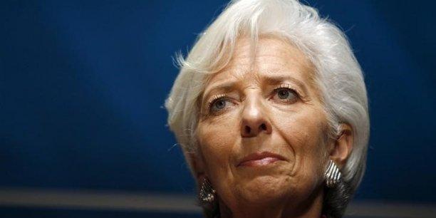 Poursuivie pour négligence d'une personne dépositaire de l'autorité publique ayant mené au détournement par un tiers de fonds publics, Christine Lagarde encourt jusqu'à un an de prison et 15.000 euros d'amende.