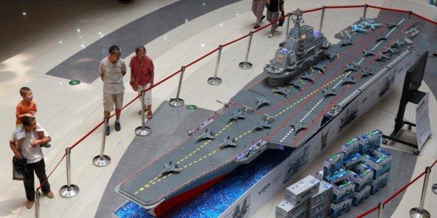 La chine a lanc son premier chantier de porte avions - Deuxieme porte avion francais ...