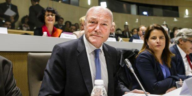 Alain Rousset a été élu officiellement ce lundi matin 4 janvier président de la nouvelle Région ALPC