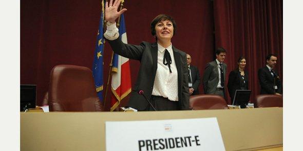 Carole Delga a été élue à la majorité absolue des voix dès le 1er tour