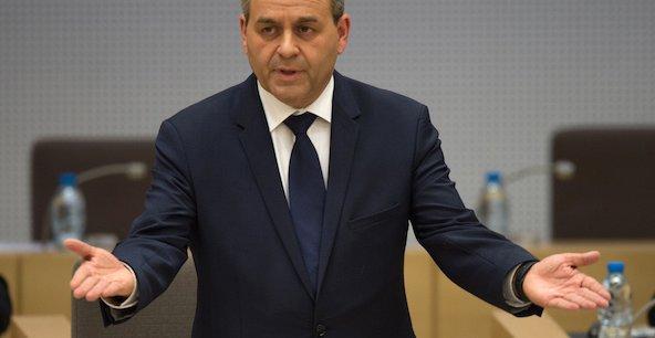 Le président de la région Hauts-de-France Xavier Bertrand.