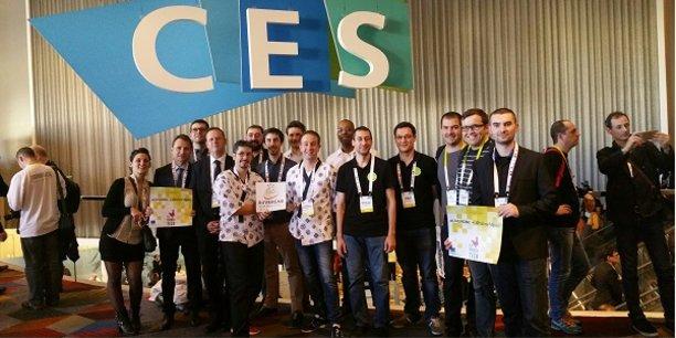 La délégation régionale lors du CES de Las Vegas