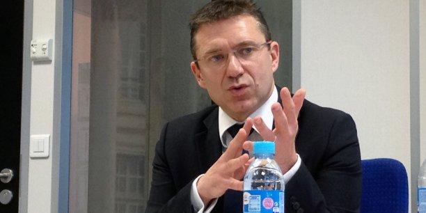 Frédéric Toubeau, directeur régional de Pôle emploi Aquitaine Limousin Poitou-Charentes
