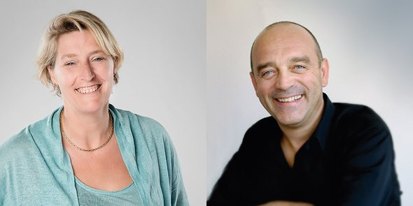 Agathe Boidin et Pierre Mestre