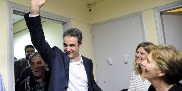 Kyriakos Mitsotakis (51 ans), futur Premier ministre grec