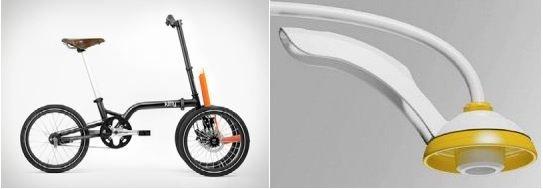 Le mini tricycle de 360 & Easy Design Technologie et la douche BP Design & SARL Écolabel.