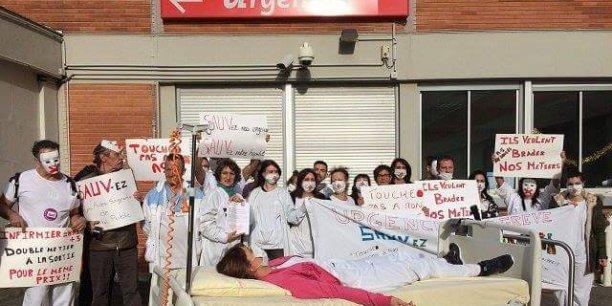 Le personnel soignant a déjà fait grève le 24 et le 31 décembre.