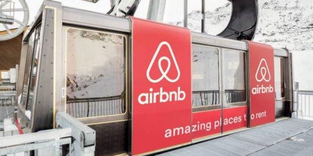 La firme américaine mène des opérations marketing dans les Alpes afin de s'implanter. Ici, à Courchevel.