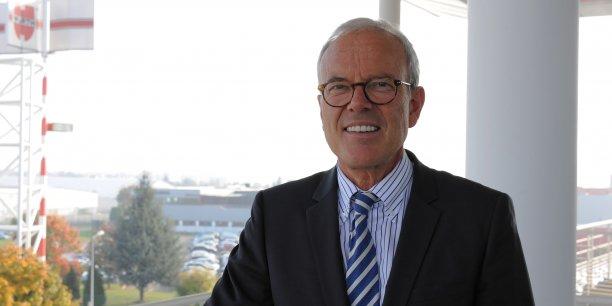 Pierre Hugel, président du directoire de Würth France (4.000 salariés).