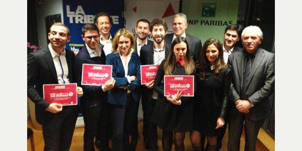 Les lauréats de la finale Sud Est, le 14 janvier à Marseille