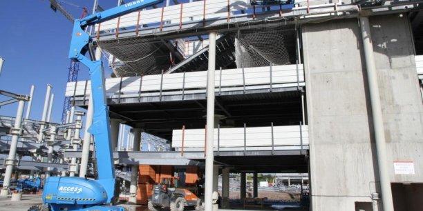 La relance de l'activité dans le secteur du bâtiment est porteur pour la location de nacelle élévatrices.
