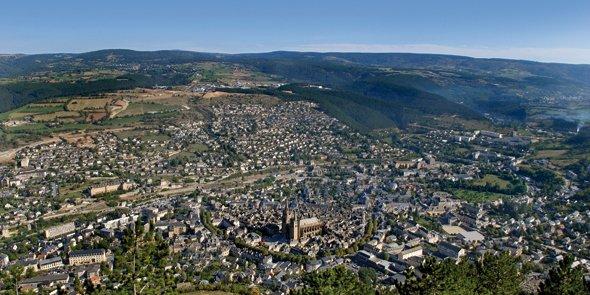 Le PRAE Jean-Antoine Chaptal se déploiera sur la commune de Badaroux, à proximité de Mende (photo).