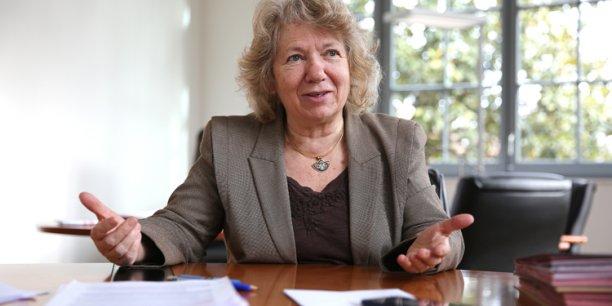 Marie-France Barthet, présidente de l'Université fédérale de Toulouse