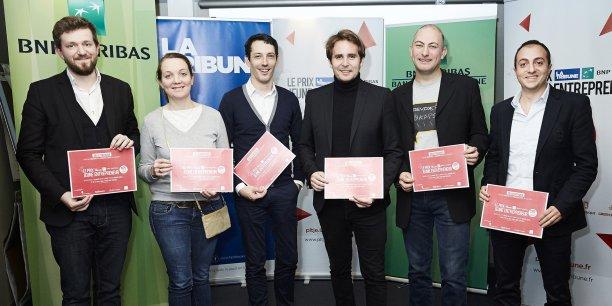 Les six lauréats de la région Ouest.