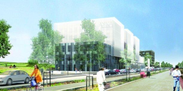Futur siège d'Akka Technologies à Blagnac