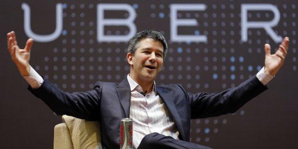 Selon Travis Kalanick, Uber, en créant de nouveaux emplois, permet à l'Etat d'encaisser des taxes et des cotisations sociales qui n'existeraient pas sinon.