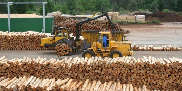 Le rebond du bâtiment est en train de profiter à l'activité bois, secteur très important en Nouvelle-Aquitaine.