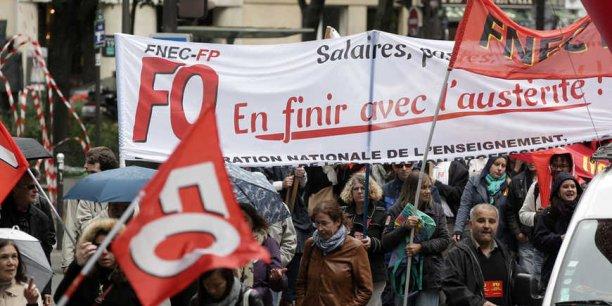Les fonctionnaires, mobilisés le 26 janvier dans toute la France, revendiquent notamment une hausse de leurs salaires, gelés depuis 6 ans.