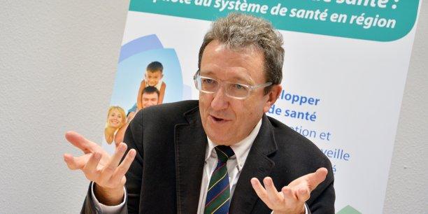 Michel Laforcade, directeur général de l'Agence régionale de santé Aquitaine Limousin Poitou-Charentes