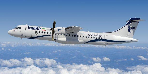 Le constructeur d'avions régionaux turbopropulseurs ATR se pose en Iran, un marché un fort potentiel pour le développement et l'expansion des liaisons et du trafic intérieur