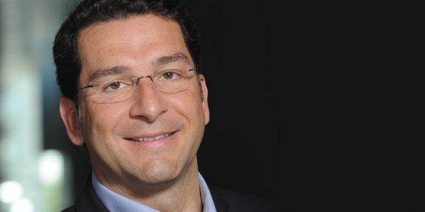 Vincent Gardès est le PDG de Vexim