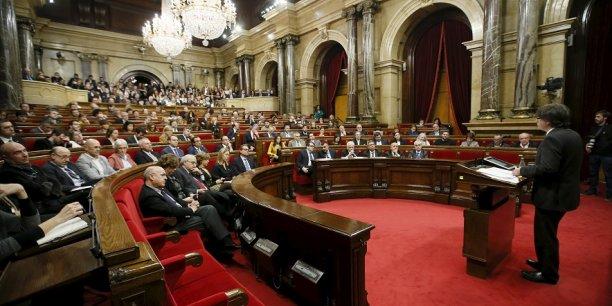 Le parlement de Catalogne va définir quelles seront les futures structures de l'Etat catalan.