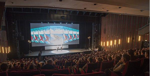 La cérémonie d'ouverture du festival lors de l'édition 2015.