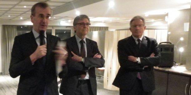 François Villeroy de Galhau, Jean-Claude Bach et Patrick Berger