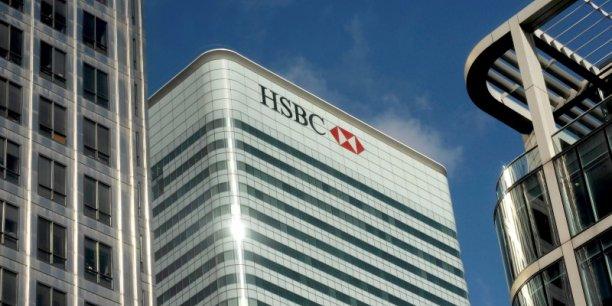 La chute des cours des matières premières et l'essoufflement chinois ont pesé sur les résultats de HSBC.