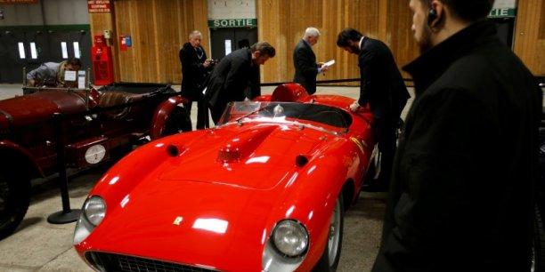 Le nom de l'acquéreur n'a pas été dévoilé mais la voiture part pour les Etats-Unis, a indiqué Matthieu Lamoure, directeur général de la branche automobiles d'Artcurial.