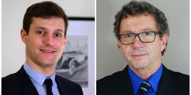 Sébastien Guérémy et Christian Levon