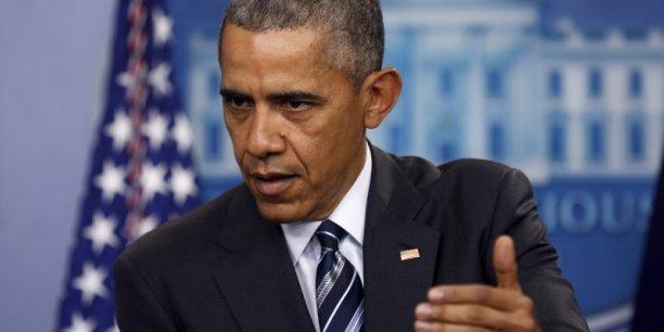 Son plan de réduction des émissions de CO2 dans le secteur de l'électricité censuré par la plus haute juridiction américaine, Obama s'est dit confiant de l'emporter sur les mesures de régulations proposées par son administration.