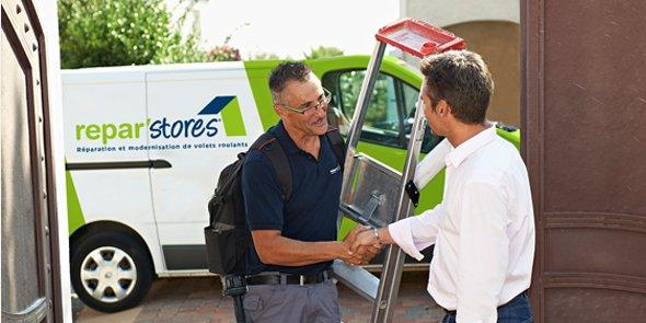 Repar'stores est spécialisée dans la réparation et modernisation des volets roulants