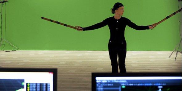 Séance de test de comparaison de système de capture de mouvement pour l'animation de personnages, pour une filiale de France Télévision.