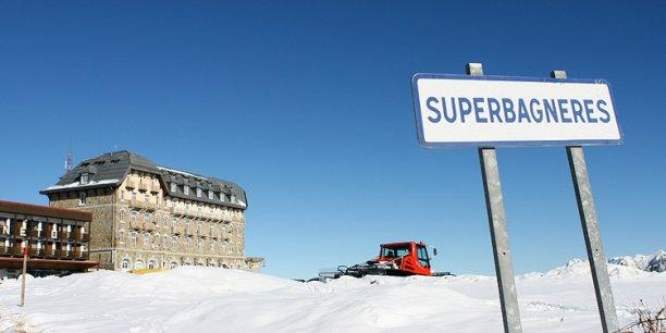 Fin janvier, Superbagnères ne pouvait compter que sur 20 cm de neige
