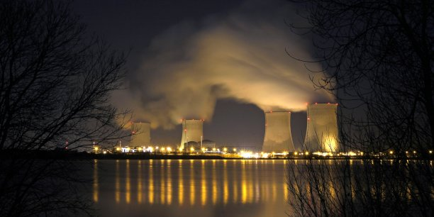 La centrale nucléaire de Cattenom, près de Thionville (57).