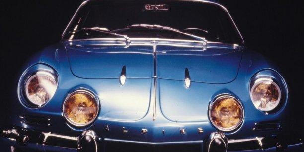 L'Alpine berlinette des années 60-début 70.