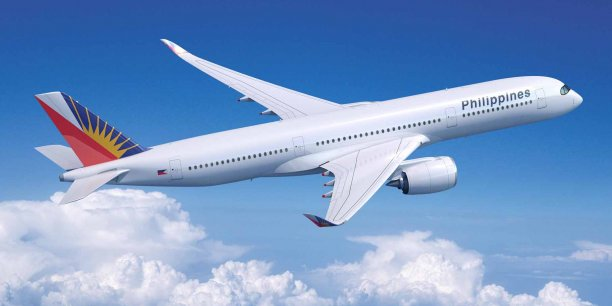 Philippine Airlines a passé une commande ferme pour six Airbus A350-900 et garde une option d'achat sur six autres appareils.