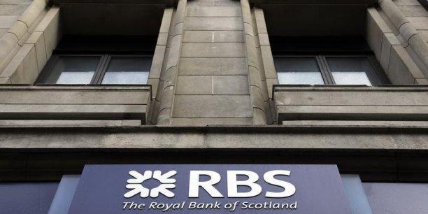 Le groupe bancaire a fait état le mois dernier d'une perte annuelle de 1,97 milliard de livres sterling (2,51 milliards d'euros), s'affichant dans le rouge pour une huitième année consécutive