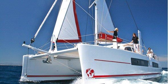 Sur l'exercice 2019-2020, Catana a fabriqué 151 bateaux et enregistré un chiffre d'affaires de 82,6 millions d'euros.