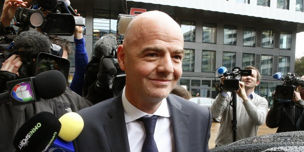 Gianni Infantino, 45 ans, dirigeait l'UEFA depuis 2009.