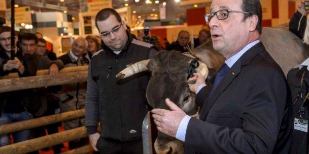 François Hollande a été accueilli au salon de la Agriculture par des sifflets et des insultes.