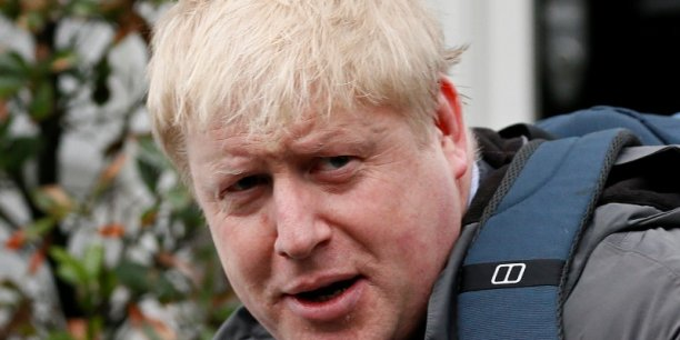 Boris Johnson, l'ancien maire de Londres, défenseur du Brexit.