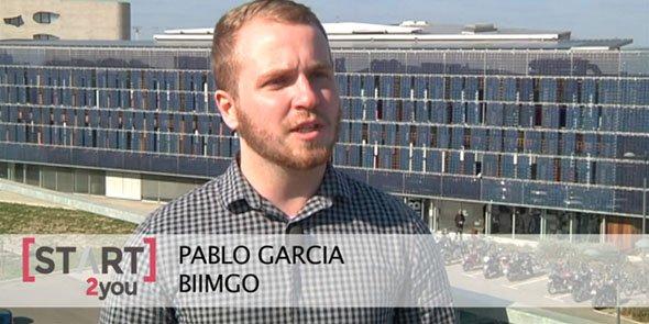 Pablo Garcia est l'un des co-fondateurs de Biimgo
