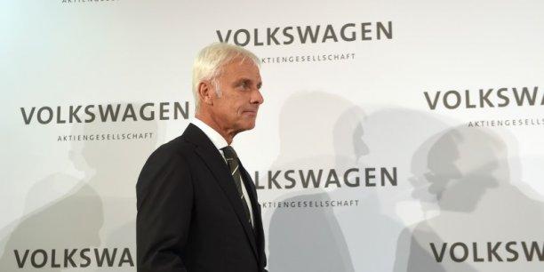 Matthias Müller vise le leadership mondial en matière de voiture connectée et autonome.
