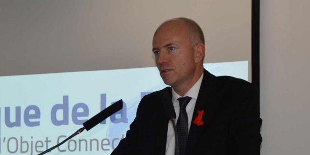 Etienne Dugas, le président de la Fédération des industriels des réseaux d'initiative publique (FIRIP).