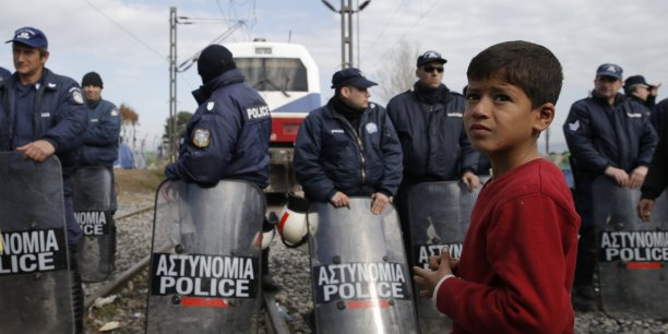 Migrants réfugiés en Grèce
