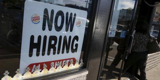 L'emploi américain donne des signes encourageants.