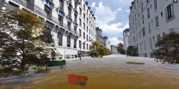 En cas d'inondation majeure, plus d'un million de personnes seraient ainsi privées d'électricité et le fonctionnement des institutions, comme des infrastructures et activités d'importance vitale, pourrait être interrompu.
